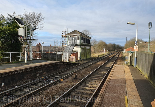 Romiley signal box