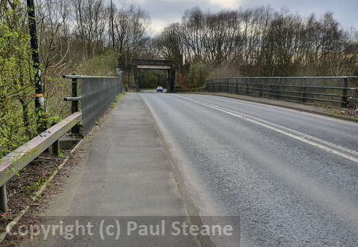 Partington station bridges