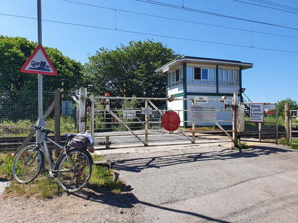 Astley level crossing