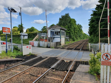 Mobberley station
