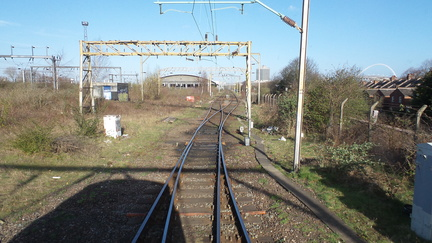 Willesden Carriage Shed Lines